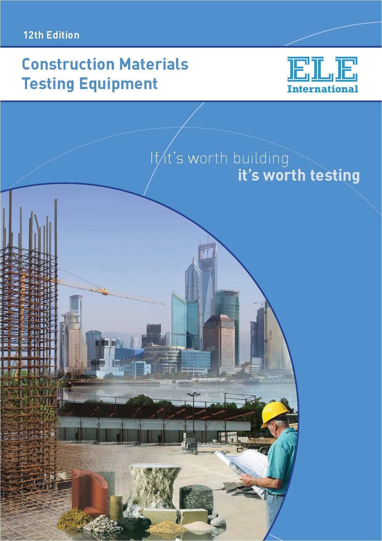 فروش ویژه محصولات موجود آزمایشگاه های گروه مهندسی عمران از کارخانه ELE انگلستان